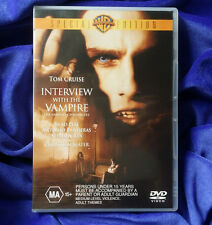 INTERVIEW WITH THE VAMPIRE DVD | Special Edition | Region 4 | Brad Pitt