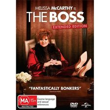 THE BOSS-Melissa McCarthy-Region 4-New AND Sealed