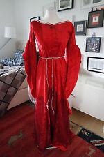 Kleid / Kostüm / Gewand - Mittelalter Rot 36,38,40