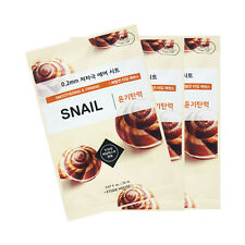 [ETUDE HOUSE] 0.2 Therapy Air Mask Samples - 3pcs #Snail ROSEAU