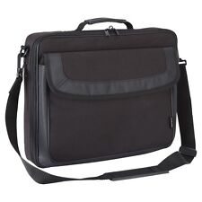 """Laptop Bag Case Macbook High Quality Padded Carry Brief Notebook Fits 15.6""""Black"""