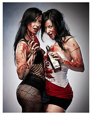 """""""SOSKA SISTERS"""" (Twisted Twins) from-HELLEVATOR-tv show--Glossy 8x10 Photo"""