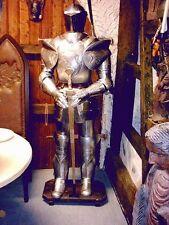Rüstung Ritterrüstung komplett tragbar zum anziehen aus Blech Ritter Höhe185cm
