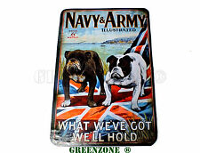 Army and Navy Military Wooden Wall/ Door Plaque/ Sign