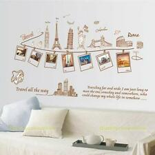 Travel All the Way Removable Vinyl Decal Wall Sticker Home Decoration