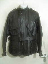 VINTAGE 60,S BARBOUR INTERNATIONAL SUIT WAXED POLICE MOTORCYCLE JACKET SIZE C42