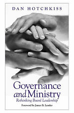 GOVERNANCE AND MINISTRY: Leadership by D Hotchkiss NEW PAPERBACK BOOK In Aust 18
