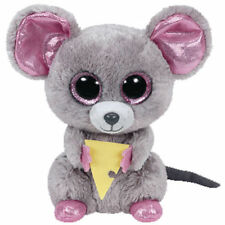 SQUEAKER THE MOUSE TY BEANIE BOOS  BRAND NEW