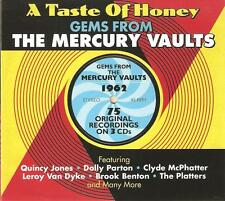 A TASTE OF HONEY GEMS FROM THE MERCURY VAULTS 1962 - 3 CD BOX SET