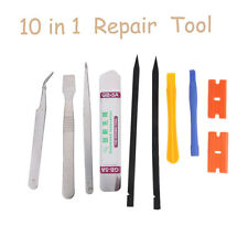10in1 Mobile Repair Opening Tools Set Pry Screwdriver Kit For Cell Phone iPhone
