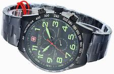 Swiss Military Hanowa Herrenuhr Chronograph Datum Edelstahl 06-5268.13.007 NEU