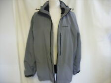 Mens Jacket Craghoppers UK L, EUR 52-54, grey & black trims, mesh lining 1513