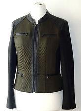 Taifun by Gerry Weber Damen Lederjacke Gr 40 Biker Style Jacke Blazer Damenjacke