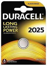 New Duracell 2025 3V Lithium Coin Cell Batteries CR2025/DL2025 Battery