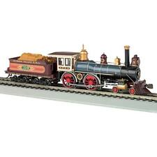 NEW Bachmann 4-4-0 American w/o DCC UP #119 w/Wood Load HO 51002
