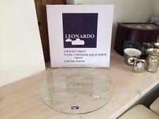 Leonardo Käseplatte Glasplatte Käse Platte *ca. 33 cm* mit Aufdruck *Cheese*