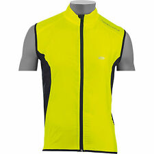 NORTHWAVE NORTH WIND VEST WINDPROOF CYCLE GILET YELLOW NEW XL 40% OFF