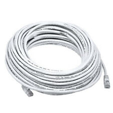 50FT White High Quality Cat6 550MHz UTP RJ45 Ethernet Bare Copper Network Cable