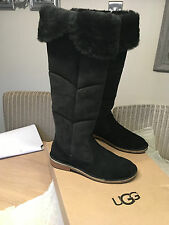 Lovely UGG Samantha knee high sheepskin lined boots Size 37