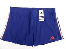 ADIDAS  W  TS Short mit Innenhose Tennis / Sport heroink blau  rot  L / 44  NEU