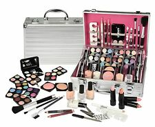 Vanity Case Cosmetic Make Up Urban Beauty Box Travel Carry Gift Storage 64 Piece