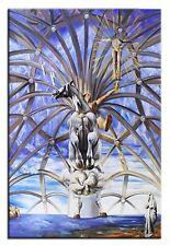 Salvador Dali-St.Jakob-90x60 Ölgemälde Handgemalt Leinwand Signiert G01813