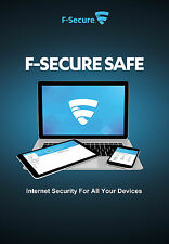 F-Secure SAFE 2016, 3 Multi-Devices, 1 Year Protection (LATEST DOWNLOAD VERSION)