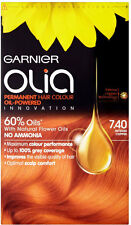 Garnier Olia Permanent Hair Colour - 7.40 Intense Copper