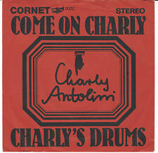 "Charly ANTOLINI - Come on Charly / Rare 1967er CORNET 7"" - Single !  First Issue"