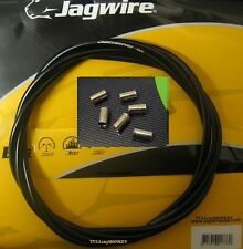 JAGWIRE - BLACK CEX OUTER BRAKE CABLE - 2 METRES  plus end ferrules