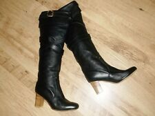 NEW CHLOE knee high buckle LEATHER boots size 6.5 RRP £700
