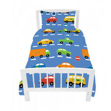 Single Bed Size Duvet Cover Set Traffic Express Boys Cars & Pillowcase Childrens