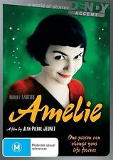 Amelie Audrey Tautou French Comedy English Subtitles Region 4 DVD VGC