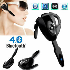 Bluetooth Earphone earpiece headset Smart Call Music Mic for iPhone Samsung HTC