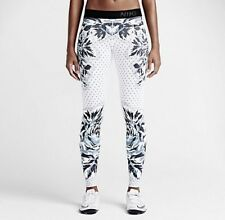 NIKE Pro Floral Dot Gym Leggings Size Extra Small RRP £90