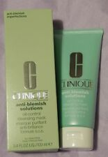 CLINIQUE ANTI-BLEMISH SOLUTIONS OIL-CONTROL CLEANSING MASK 100ml BNIB
