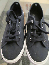 Atmosphere - Navy Blue Plimsoles/beach Shoes SIZE 4