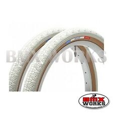 """Panaracer HP406 White 20"""" X 1.75"""" Freestyle BMX Tyres - Sold In Pairs"""