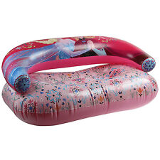 Disney Frozen Kids Inflatable Couch Childrens PVC Air Sofa Comic Lounger Seat