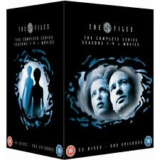 "THE X FILES COMPLETE SERIES COLLECTION 55 DISC DVD BOX SET R4 ""NEW&SEALED"""