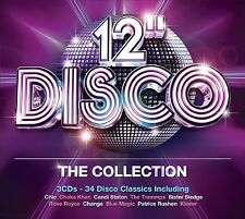 "VARIOUS ARTISTS - 12"" DISCO: THE COLLECTION 3CD SET (2013)"