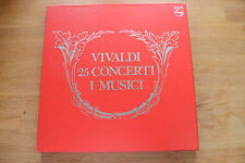 VIVALDI 25 Concerti Per Violini AYO MICHELUCCI ACCARDO  5 LP box Philips MINT