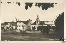 Buchau, Böhmen, Ringplatz, alte Ansichtskarte um 1930