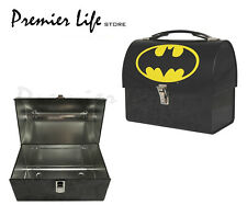 Batman Domed Tin Tote Kids Lunch Box