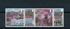 St Helena 2015 MNH Paintings of Main Street Jamestown 4v Se-tenant Set