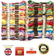 36 variegated Anchor pearl Cross Stitch Cotton Embroidery Thread Floss / Skeins