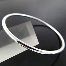 A216 GENUINE REAL 925 STERLING SILVER S/F LADIES GIRLS GOLF CUFF BANGLE BRACELET
