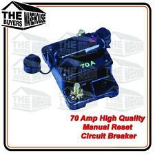 HIGH QUALITY 70 AMP MANUAL RESET CIRCUIT BREAKER  NARVA COMPETITOR