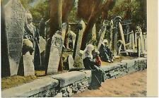 "AK ISTANBUL / CONSTANTINOPLE 1915 ungebr. farbige RP AK ""Cimitiere de Scutari"""