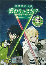 Anime DVD Seraph of the End Vol. 1 - 12 End Complete Japan Animation Box Set